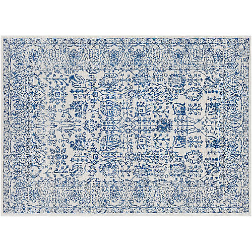 Wright Rug, Dark Blue
