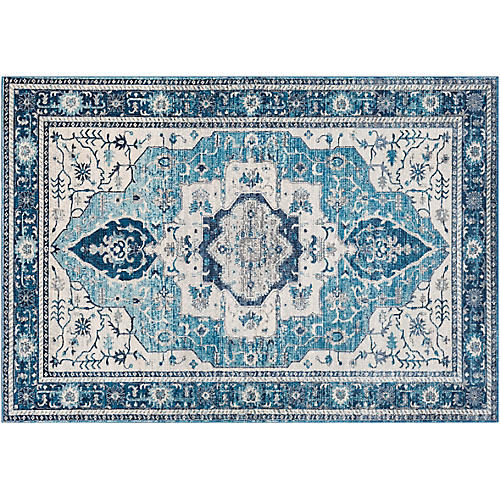 Ezra Rug, Light Blue