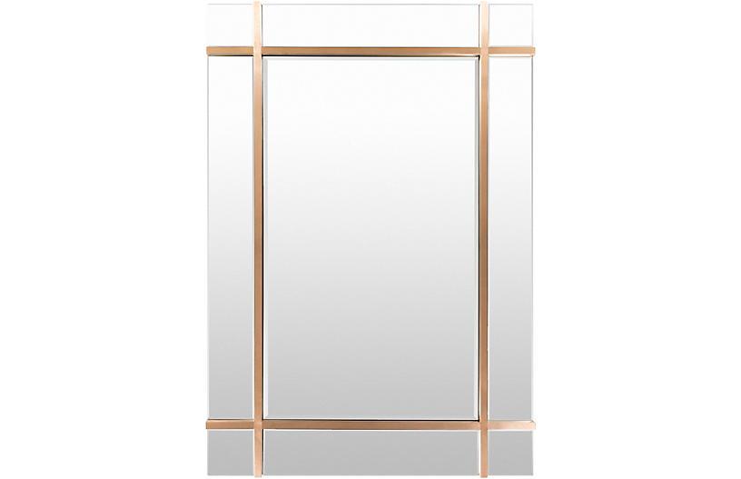 Sadler Wall Mirror, Gold