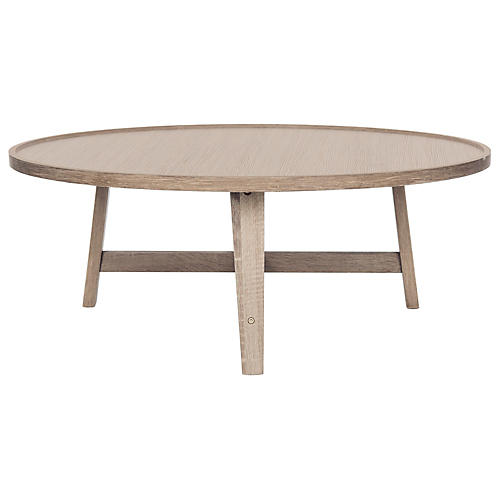 Jonna Midcentury Coffee Table, Natural