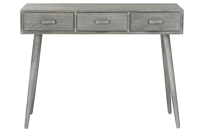 Albus Console, Slate Gray