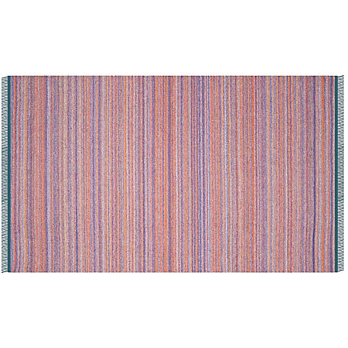 Fihi Kids' Kilim, Purple/Rust