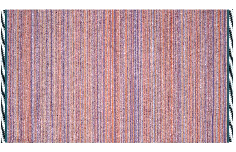 Fihi Kids' Kilim, Purple/Rust