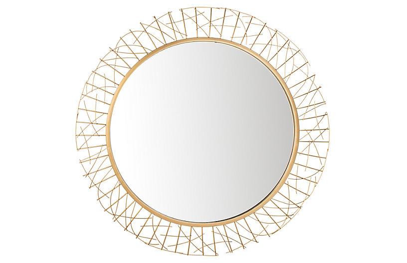 Leah Mirror, Gold
