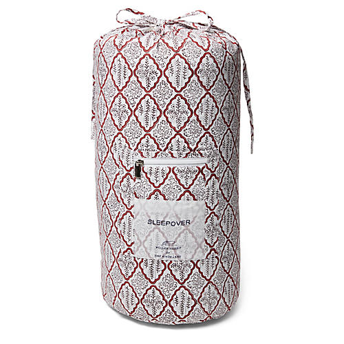 Trellis Kids Sleeping Bag, Rosewood