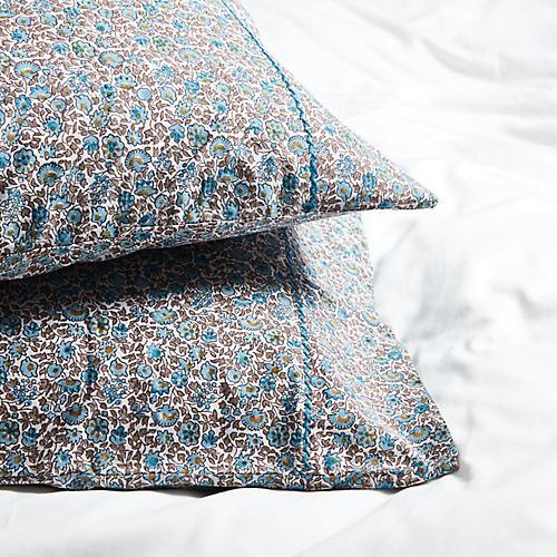 S/2 Keya Pillowcases, Sky