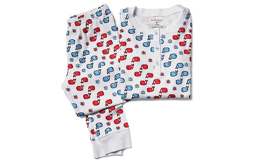 Moby Star Kids' Cotton Pajama Set, Multi