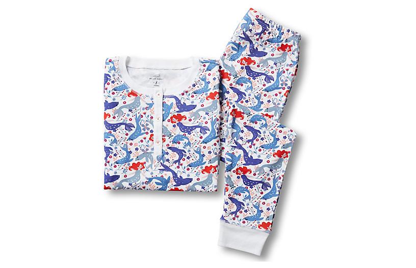 Selkie Kids' Pima Cotton Pajamas, Lilac