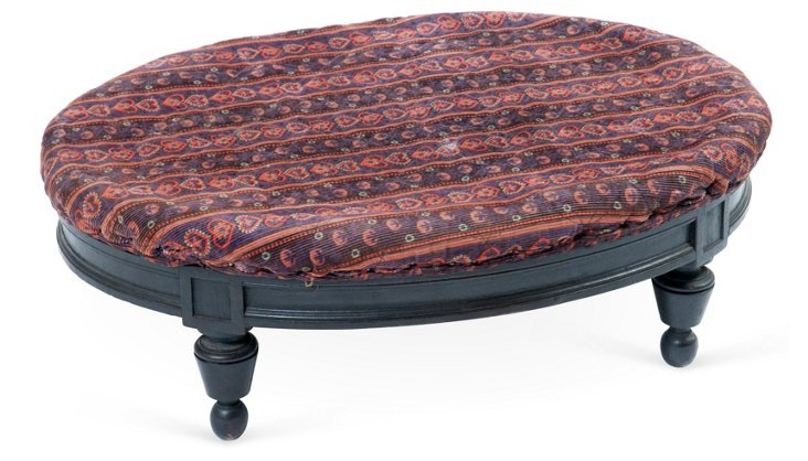 Antique Oval Footstool