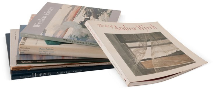 American Art Book Collection, 6 Vols.