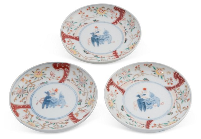Imari Dishes, Set of 3