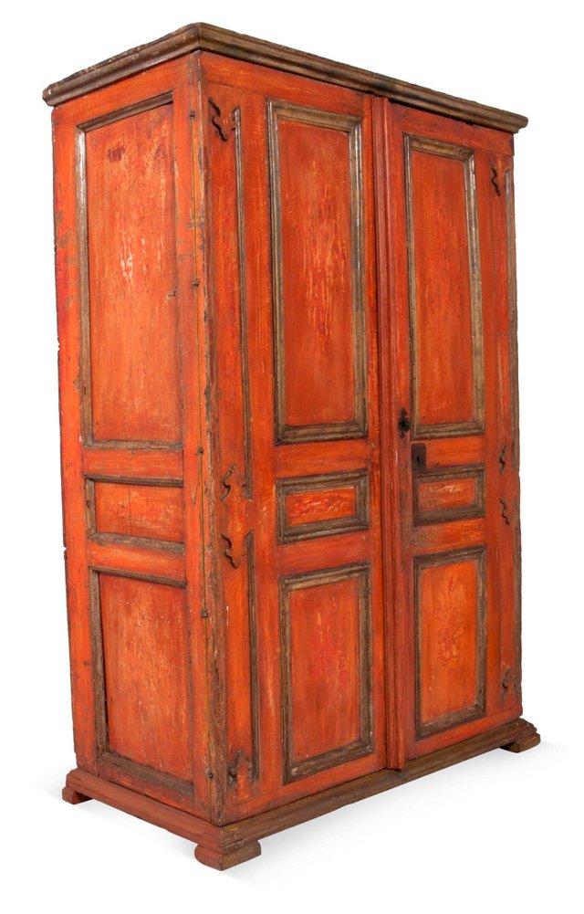 Venetian Coral Cabinet, C. 1700