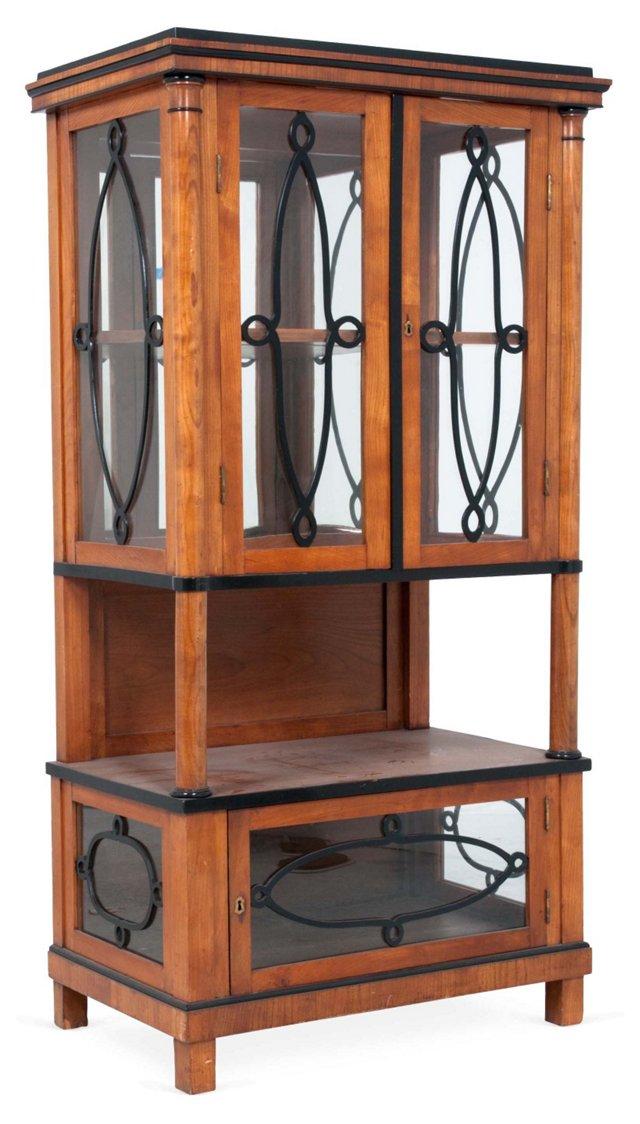 Biedermeier Curio Cabinet