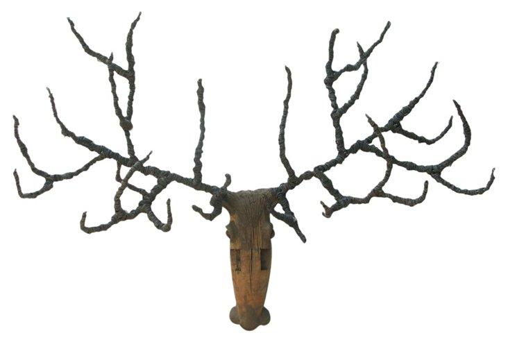 DNU,OLarge Reindeer Head