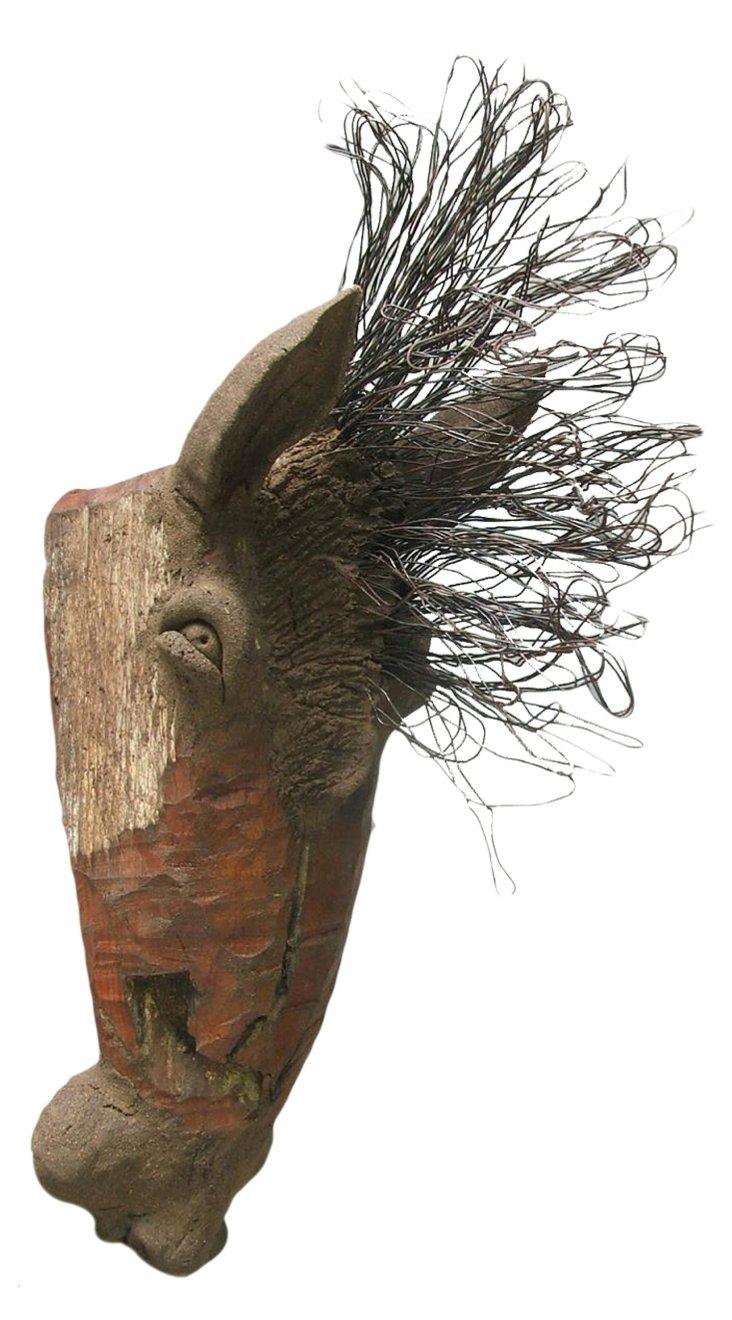 Chin Horse Head