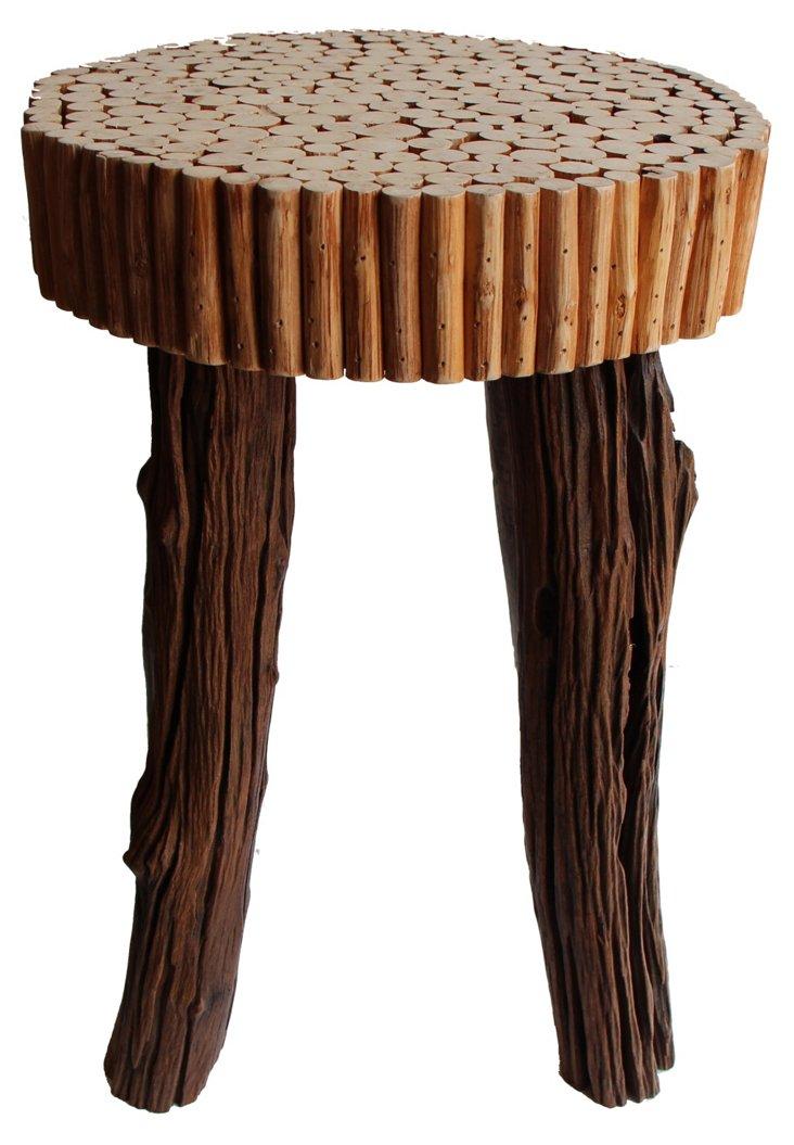 Tall Munchkin End Table IV