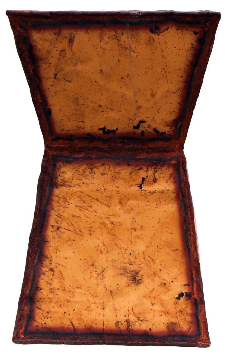 Orleans Stool, Rusty Orange