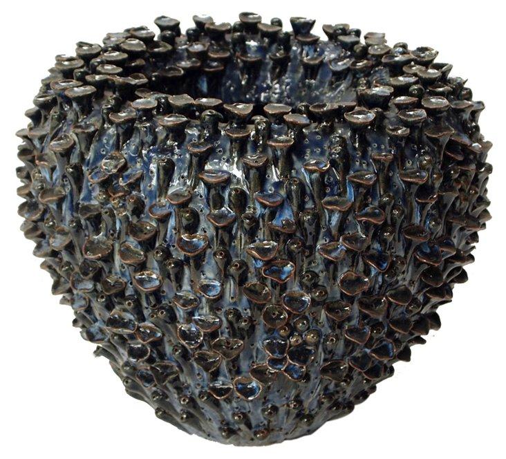 DNU,OBarnacle Vase, Black