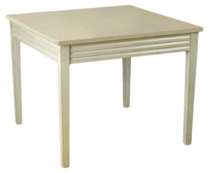 Gilbert Breakfast Table, Blue/Gray