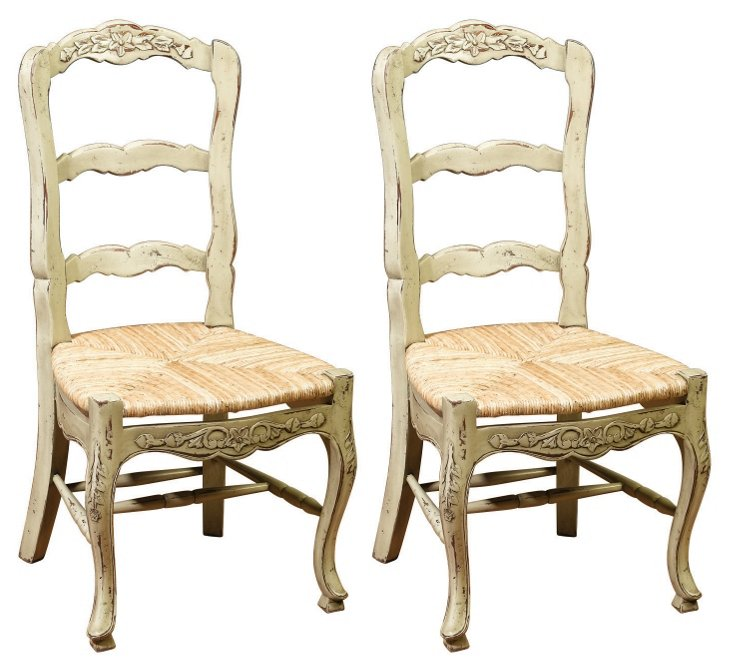 * French Country Side Chairs,
