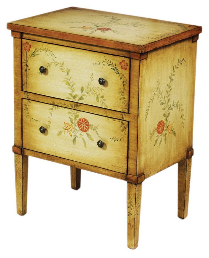 Campbell Nightstand, Butter