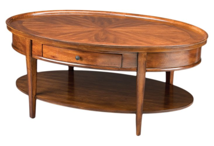 *  Serena Coffee Table, Walnut