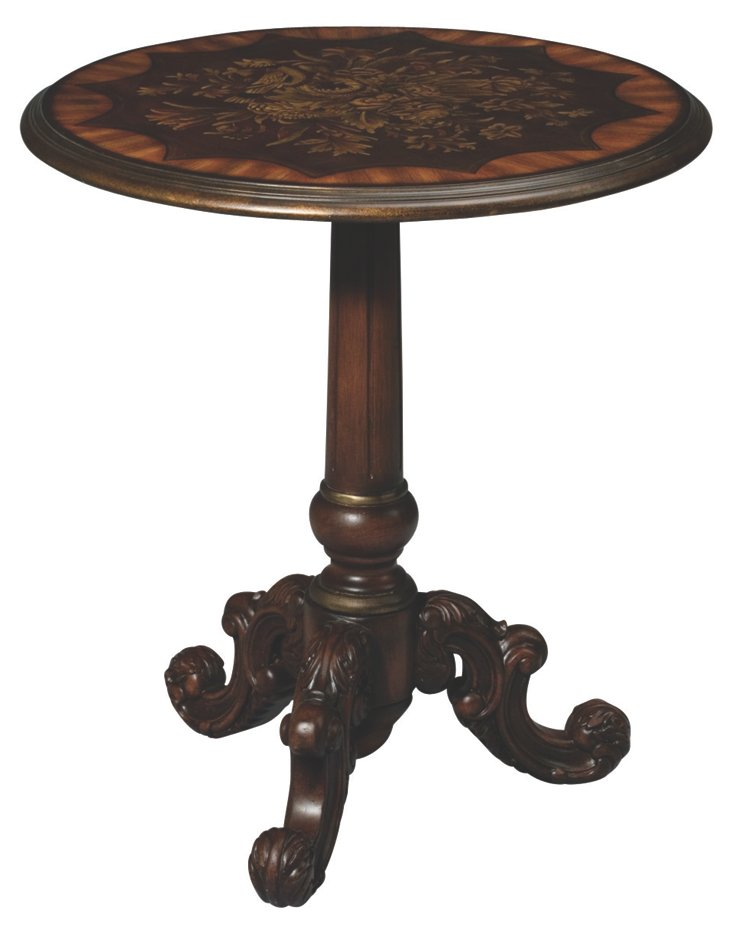 Madeline Round Lamp Table