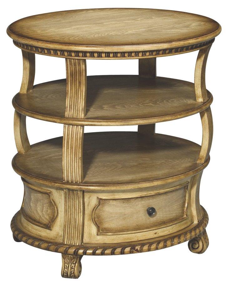 Colin Lamp Table, Oak