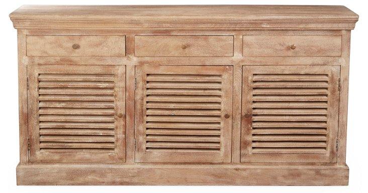 Ada Shutter Cabinet, Natural