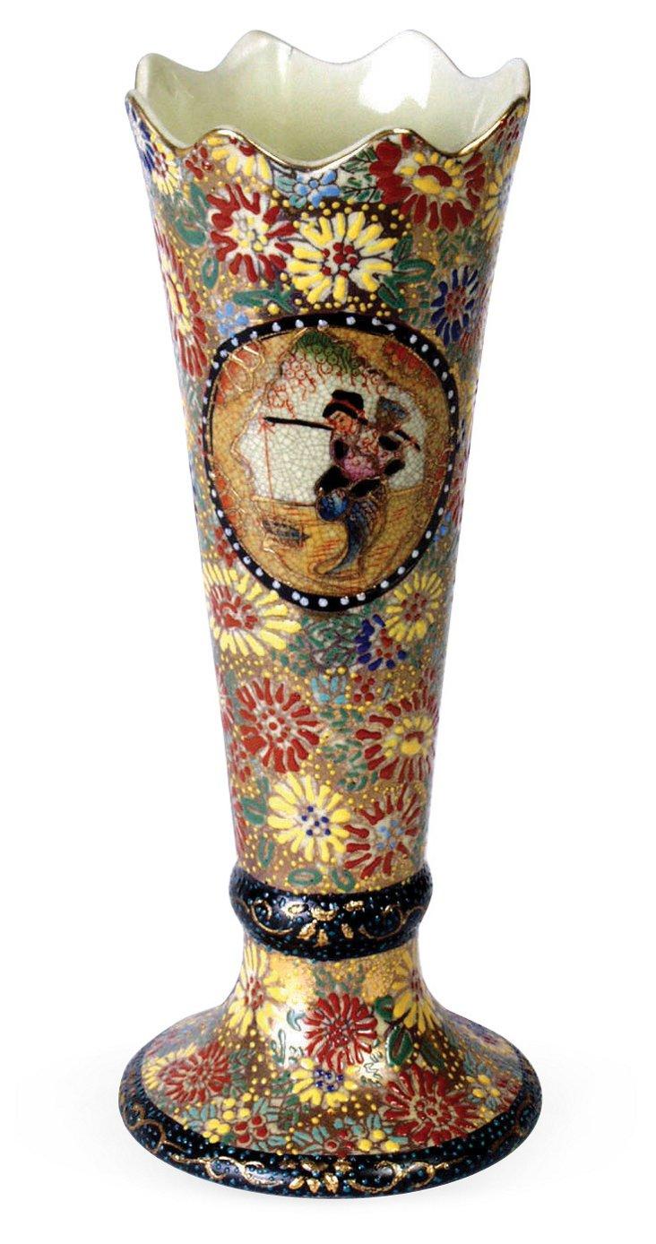 """10"""" Fishing Vase"""