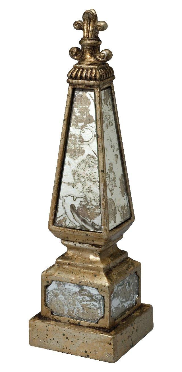 """14"""" Mirrored Obelisk"""