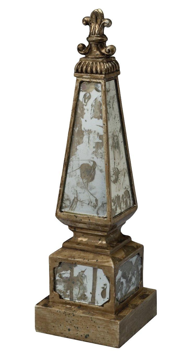 """16"""" Mirrored Obelisk"""