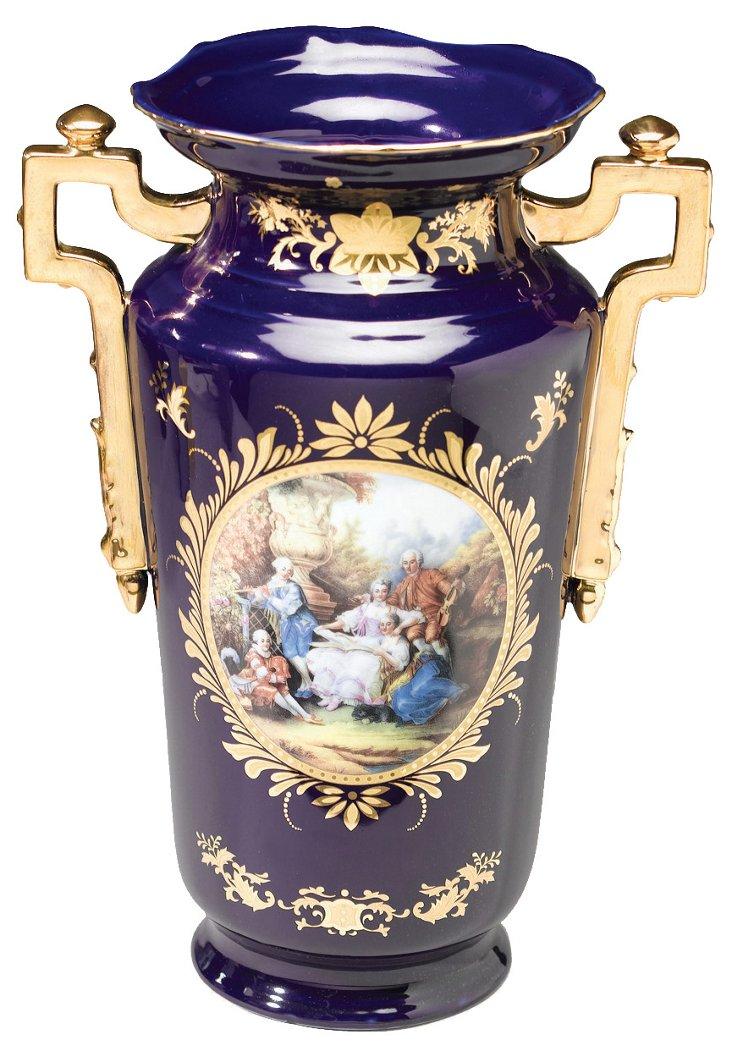 Summer Scene Vase