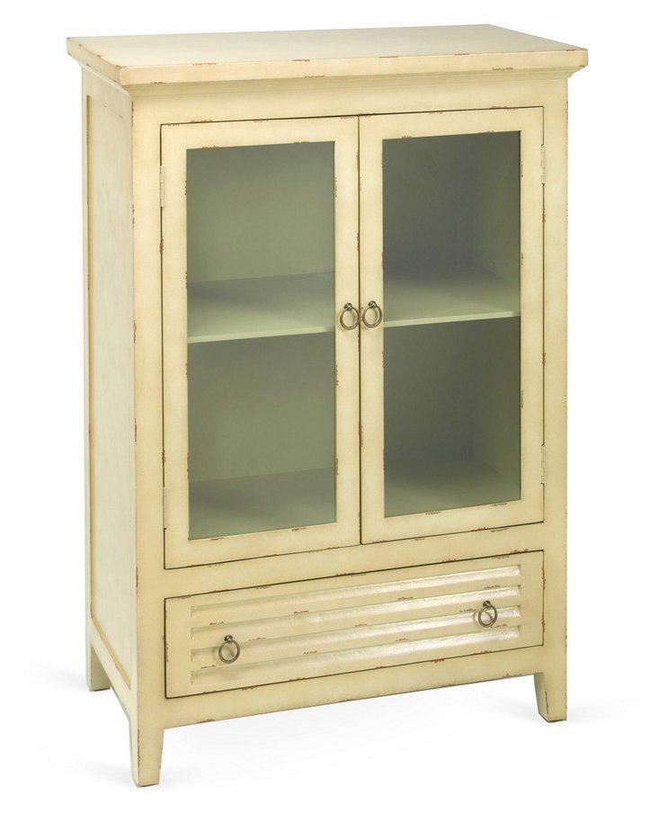 Calder Cabinet, Antiqued White