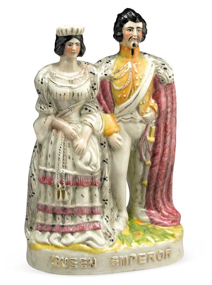 Queen and Emperor Figure