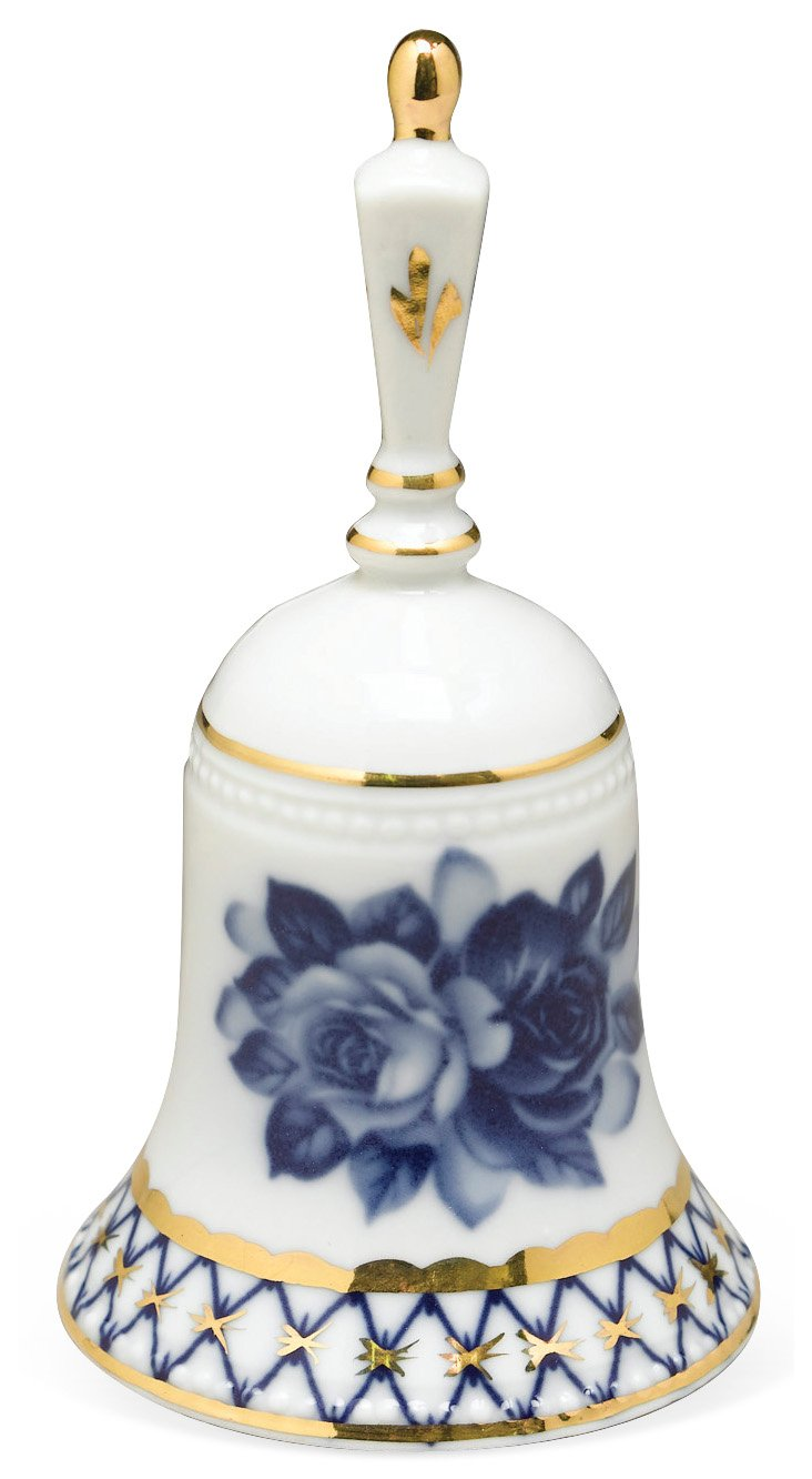 Blue & White Porcelain Bell