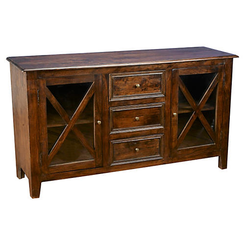 Brielle Sideboard, Pecan