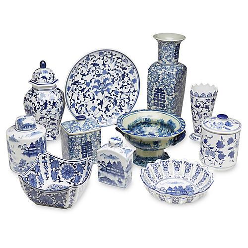 Asst. of 11 Porcelain Accents