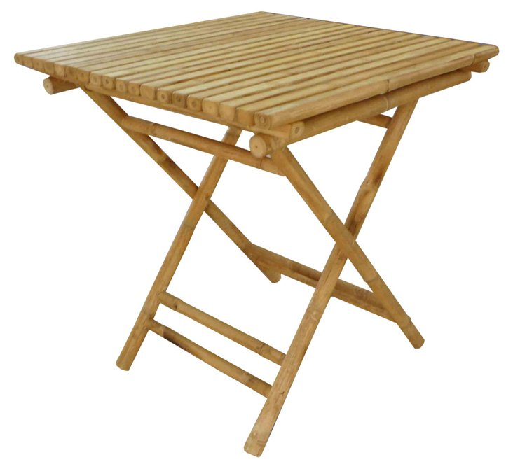 DNU, Dis Bamboo Dining Square Table