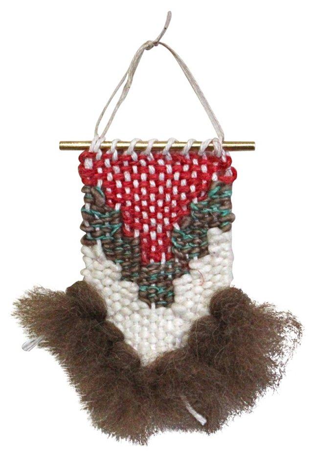 Emily Weaving Ornament