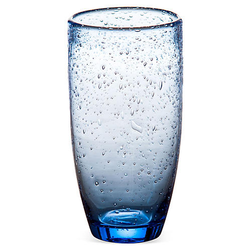 S/4 Bubble Tumblers, Blue