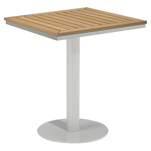 Toshi Tekwood Bistro Table, Natural