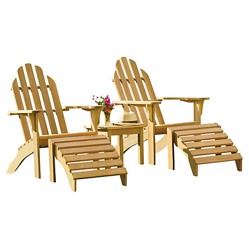 Waterfall Adirondack 5-Pc Set