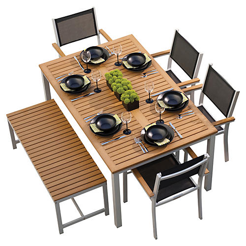 Kimmie 6-Pc Dining Set