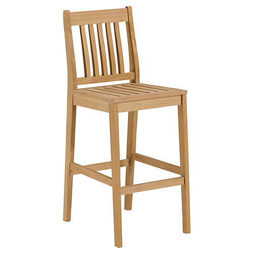 Seabrook Barstool, Natural