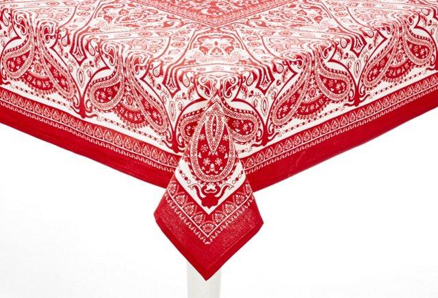 "Eternal Flame Tablecloth, 90"" x 60"""