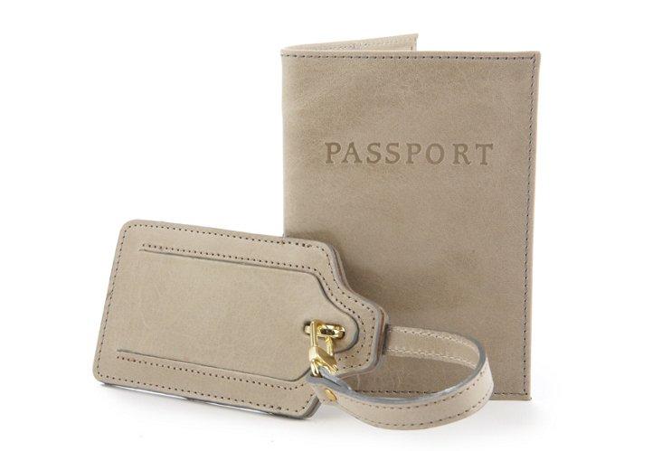 Luggage Tag & Passport Case, Elephant