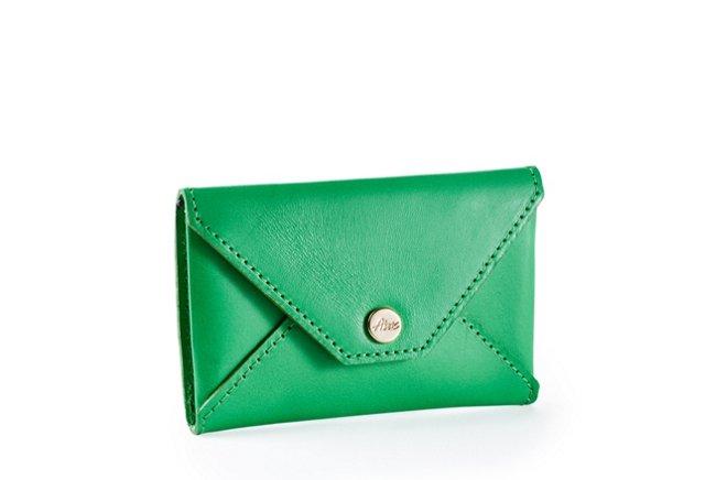 Card Case, Green