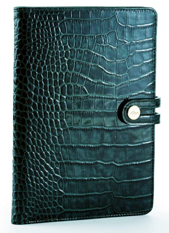 Embossed iPad Mini Case, Dark Teal