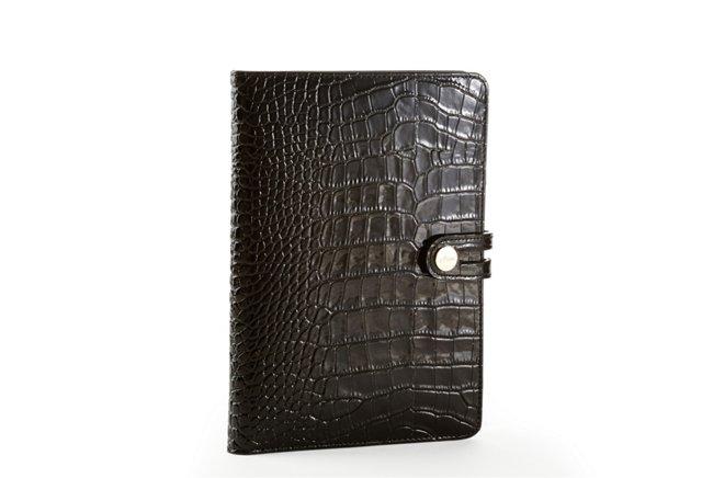 Embossed iPad Mini Case, Black